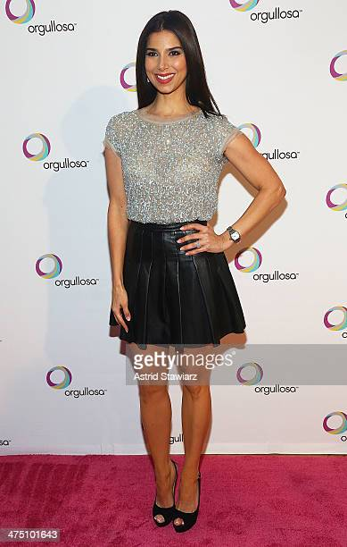Roselyn Sanchez attends the Nueva Latina campaign launch at Helen Mills Event Space on February 26 2014 in New York City