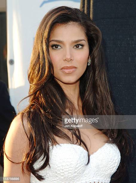 Roselyn Sanchez during 25th Anniversary Gala for PETA and Humanitarian Awards Arrivals at Paramount Pictures in Hollywood California United States