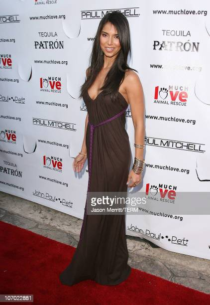 Roselyn Sanchez during Bow Wow Ciao Benefit For 'Much Love' Animal Rescue Arrivals at John Paul DeJoria and Eloise DeJoria Estate in Malibu...