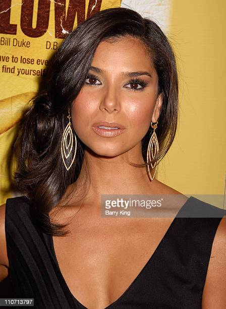 Roselyn Sanchez during Los Angeles Premiere of 'Yellow' Arrivals at The Landmark in West Los Angeles California United States