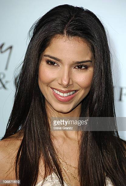 Roselyn Sanchez during Tiffany Co Celebrates The Launch Of Frank Gehry's Premier Collection On Rodeo Drive Arrivals at Tiffany Co Store in Beverly...