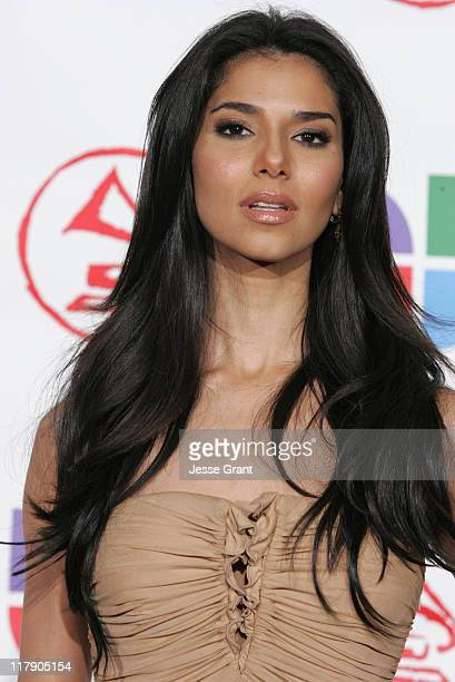 Roselyn Sanchez presenter during The 6th Annual Latin GRAMMY Awards Press Room at Shrine Auditorium in Los Angeles CA United States