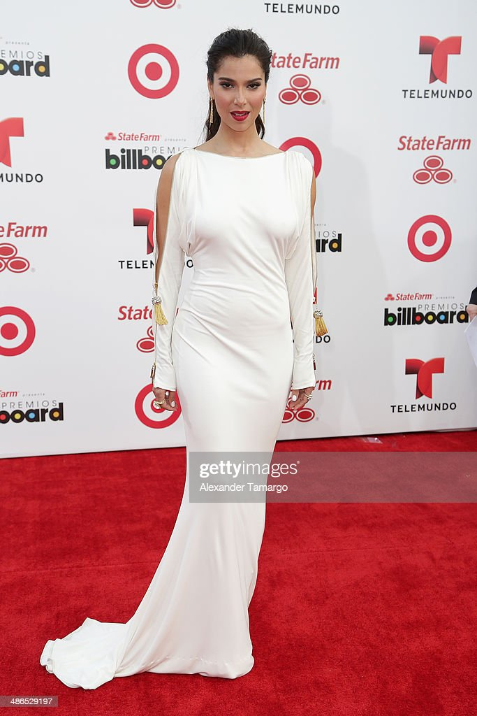 Roselyn Sánchez attends the 2014 Billboard Latin Music Awards at Bank United Center on April 24, 2014 in Miami, Florida.