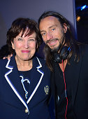 Roselyne Bachelot and Bob Sinclar attend the 'Paris By Night' Bob Sinclar CD Launch Concert Party At La Gaite Lyrique on April 2 2013 in Paris France