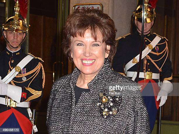 NOVEMBER 09 Roselyne Bachelot attends '23rd Gala Pour L'Espoir 2015' Auction Show To Benefit Against Cancer Associations at Theatre des Champs...