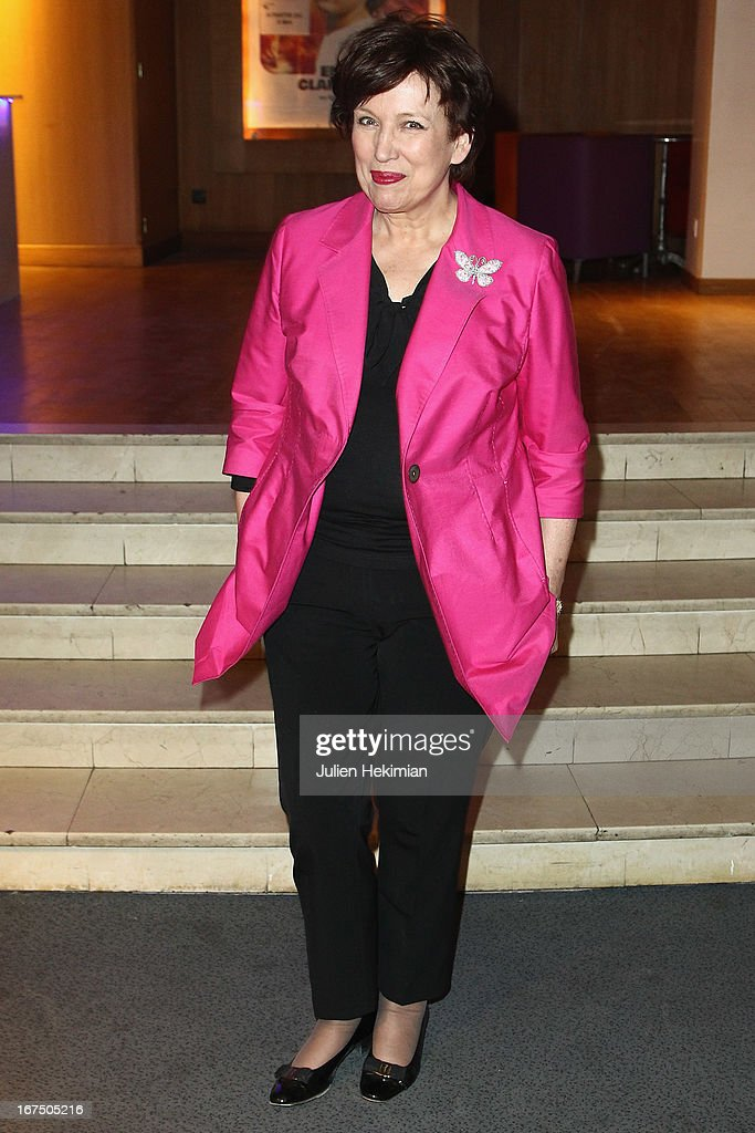 <a gi-track='captionPersonalityLinkClicked' href=/galleries/search?phrase=Roselyne+Bachelot&family=editorial&specificpeople=2369544 ng-click='$event.stopPropagation()'>Roselyne Bachelot</a> attends 'Alias Caracalla' Paris Premiere at Cinema l'Arlequin on April 25, 2013 in Paris, France.