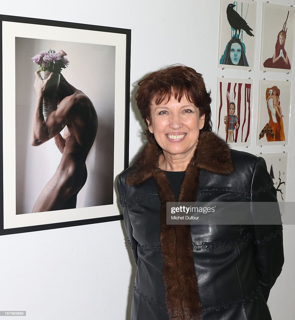 Roselyne Bachelot attends Art Is Hope' Exhibition Preview In Benefit Of 'AIDS Association' At Palais De Tokyo at Palais De Tokyo on November 13 2013...