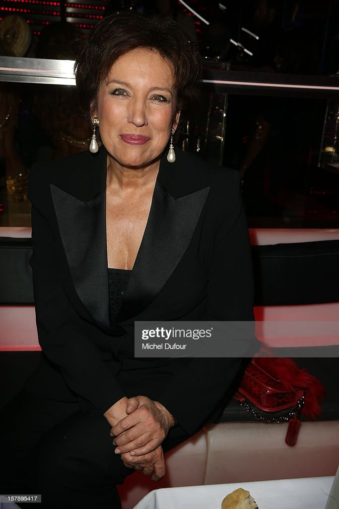 Roselyne Bachelot attends jeweler Edouard Nahum's 'Maya' collection launch cocktail party at La Gioia on December 4, 2012 in Paris, France.