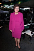 Roselyne Bachelot attends 'La Closerie Des Lilas Literary Awards 2014 7th Edition' at La Closerie Des Lilas on April 8 2014 in Paris France