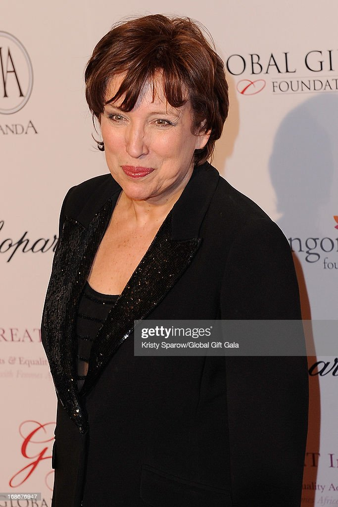 Roselyne Bachelot attends the 'Global Gift Gala' at Hotel George V on May 13, 2013 in Paris, France.
