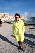 Roselyne Bachelot attends the Grand Opening Anish Kapoor's Exhibition at Chateau de Versailles on June 7 2015 in Versailles France