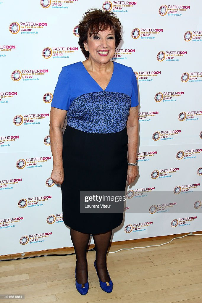 Roselyne Bachelot attends the Launch of 'Pasteur Don 2015' at Institut Pasteur on October 7, 2015 in Paris, France.
