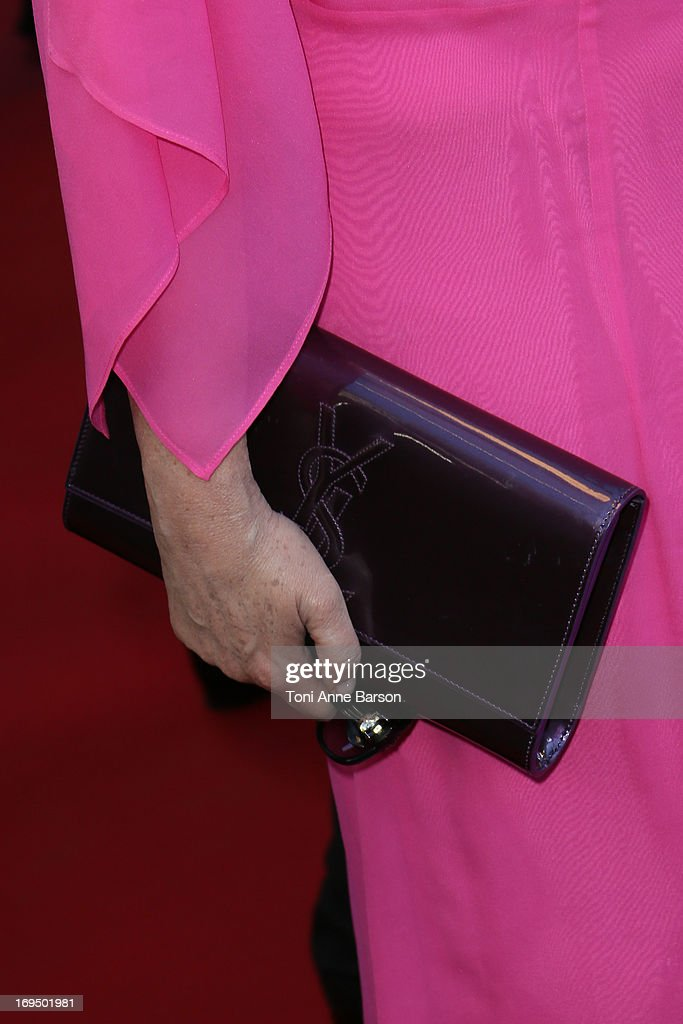 Roselyne Bachelot attends the Premiere of 'La Venus A La Fourrure' at The 66th Annual Cannes Film Festival on May 25, 2013 in Cannes, France.
