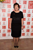 Roselyne Bachelot attends the Sidaction Gala Dinner 2015 at Pavillon d'Armenonville on January 29 2015 in Paris France
