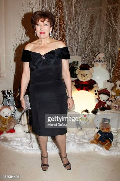 Roselyne Bachelot attends the Teddybears Auction To The Benefit Of 'Action Innocence' at Hotel Ritz on November 24 2011 in Paris France