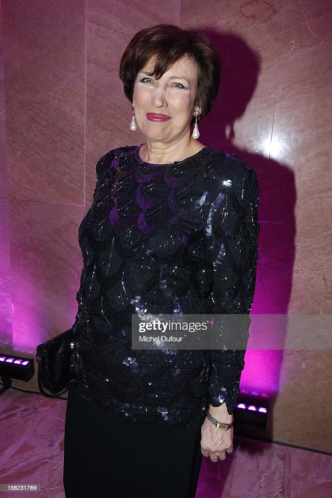 Roselyne Bachelot attends the The Bests Awards 2012 Ceremony at salons hoche on December 11, 2012 in Paris, France.