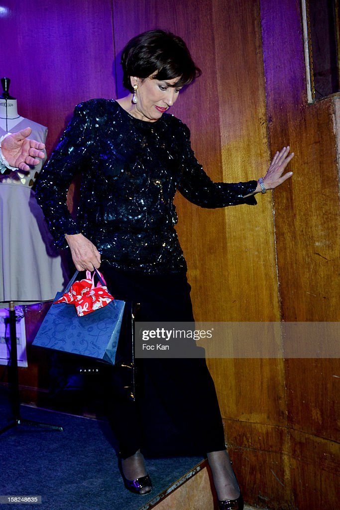 Roselyne Bachelot attends the The Bests Awards 2012 Ceremony at the Salons Hoche on December 11, 2012 in Paris, France.