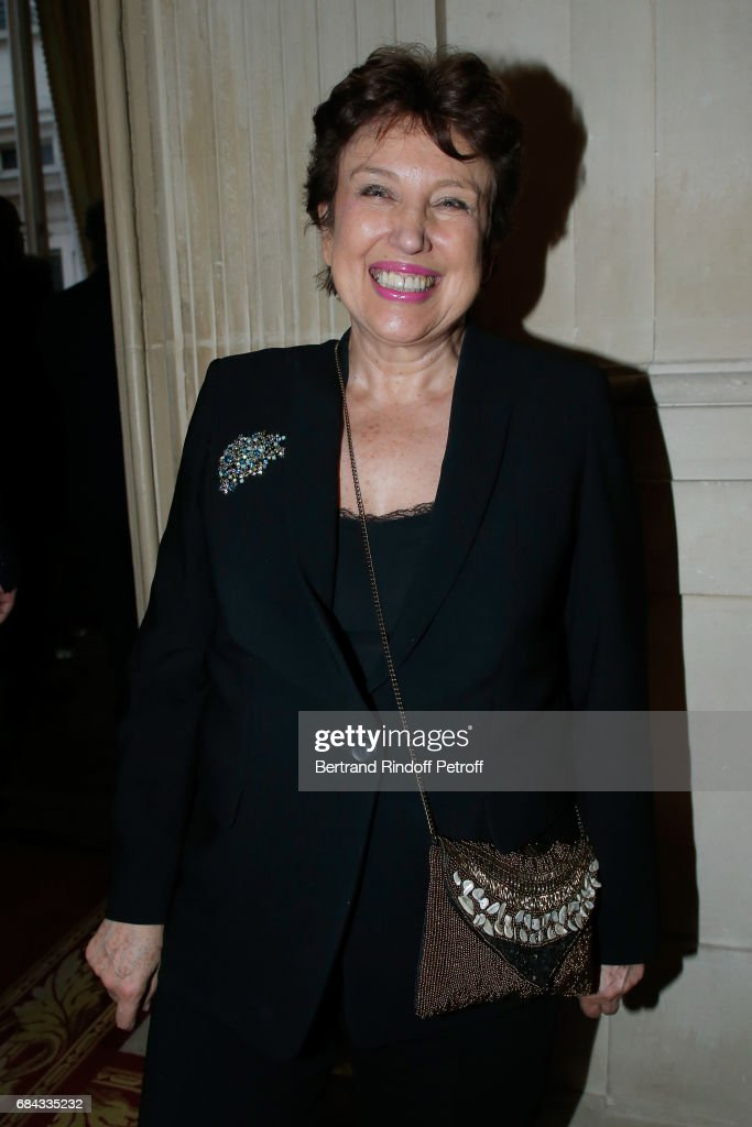 Roselyne Bachelot attends the 'Vaincre Le Cancer' Gala - 30th Anniverary at Cercle de l'Union Interalliee on May 17, 2017 in Paris, France.