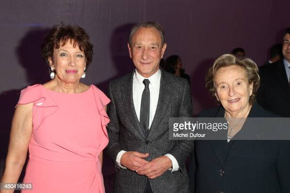 Roselyne Bachelot Bertrand Delanoe and Bernadette Chirac attend 'LINK Pour AIDES' Charity Dinner At Pavillon Cambon In Paris at Pavillon Cambon...