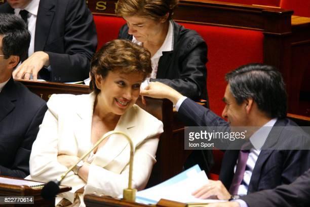Roselyne BACHELOT / Francois FILLON FAssemblee Nationale Apris