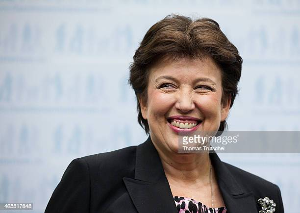 Roselyne Bachelot French Minister of Social affairs on February 03 2011 in Berlin Germany