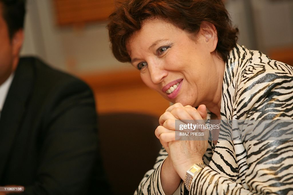 Roselyne Bachelot In Saint Pierre Reunion France On December 03 2007 Roselyne Bachelot Health Minister emphasized on the struggle against the...