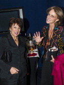 Roselyne Bachelot Narquin and MarieLaure de Villepin arrive to the premiere of the movie 'Quai d'Orsay' organized by the Claude Pompidou foundation...