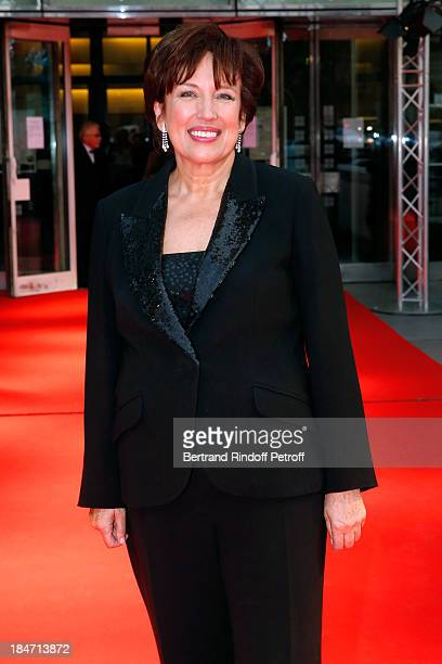 Roselyne Bachelot Narquin attends AROP Gala at Opera Bastille with a representation of 'Aida' on October 15 2013 in Paris France