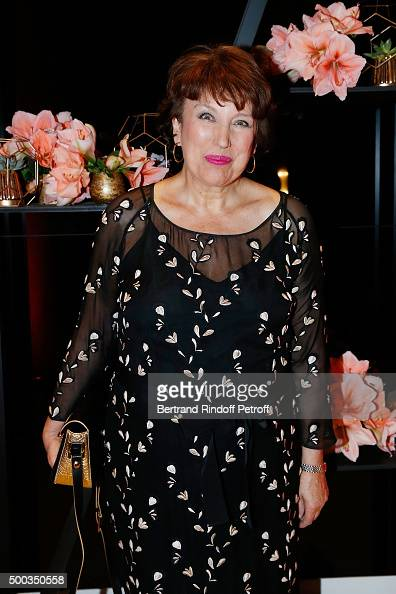 Roselyne BachelotNarquin attends the Charity Dinner 'LINK for AIDES' during the 'Art is Hope' Exhibition at Place Vendome on December 7 2015 in Paris...