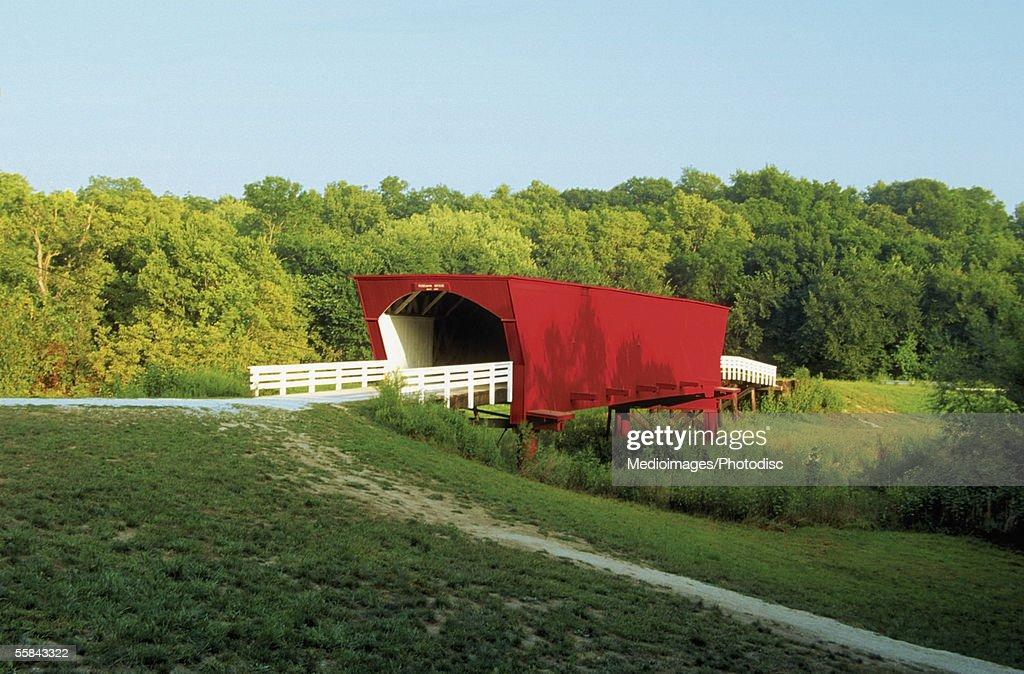Roseman Covered Bridge, Madison County, Iowa, USA
