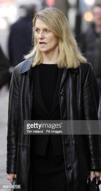 Rosemarie Corscadden arrives at the London Central Employment Tribunal in London where her boss Jerry Lees is accused of sexual harassment
