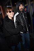 Rosemarie DeWitt and Ron Livingston are seen on January 25 2015 in Park City Utah