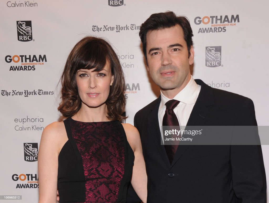 Rosemarie DeWitt and <a gi-track='captionPersonalityLinkClicked' href=/galleries/search?phrase=Ron+Livingston&family=editorial&specificpeople=213878 ng-click='$event.stopPropagation()'>Ron Livingston</a> attend the 22nd Annual Gotham Independent Film Awards at Cipriani Wall Street on November 26, 2012 in New York City.