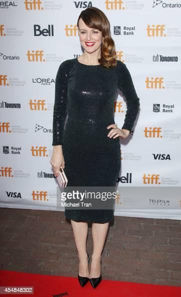 Rosemarie DeWitt arrives at the premiere of Men Women and Children held during the 2014 Toronto International Film Festival Day 3 on September 6 2014...