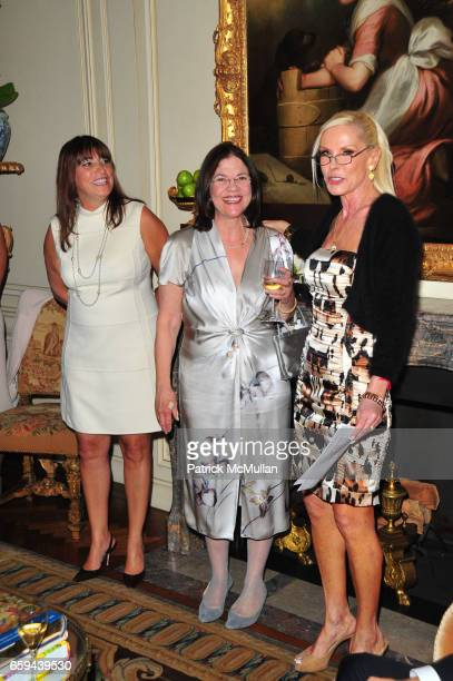 Rosemarie DiLorenzo Barbara Cohen and Michele Herbert attend NYU Tisch School of the Arts Fall Fete celebrating the 2009 Tisch Gala at Private...
