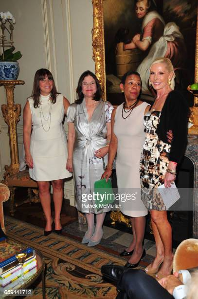 Rosemarie DiLorenzo Barbara Cohen Dean Mary Schmidt Campbell and Michele Herbert attend NYU Tisch School of the Arts Fall Fete celebrating the 2009...