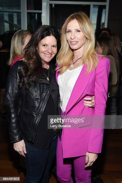 RoseMarie Terenzio and Carole Radziwill attend TIME Inc's 'PEOPLE' Toasts Book Expo 2014 at the Press Lounge at Ink 48 Hotel on May 29 2014 in New...