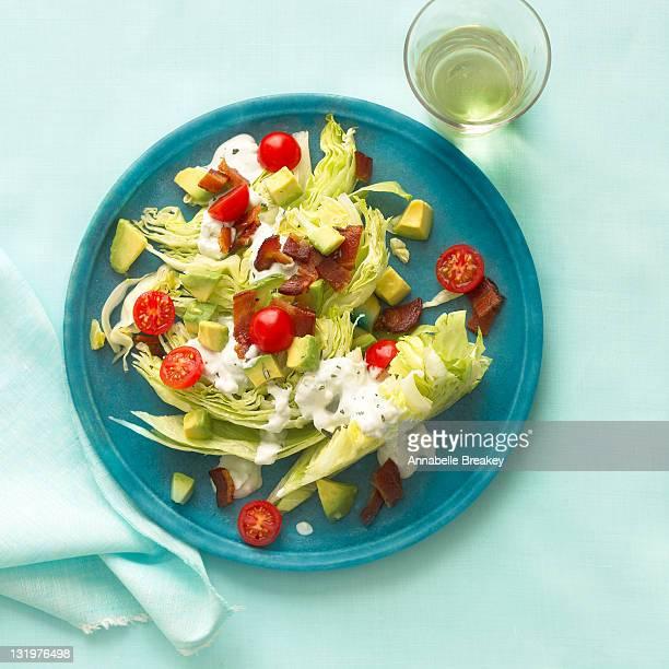 Rosemary Bacon, Lettuce and Tomato Salad