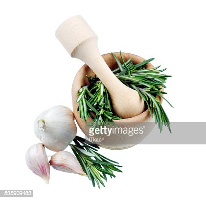Rosemary bunch isolated : Stock Photo