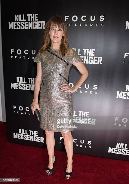 Rosemary DeWitt arrives at the 'Kill The Messenger' New York Screening at Museum of Modern Art on October 9 2014 in New York City