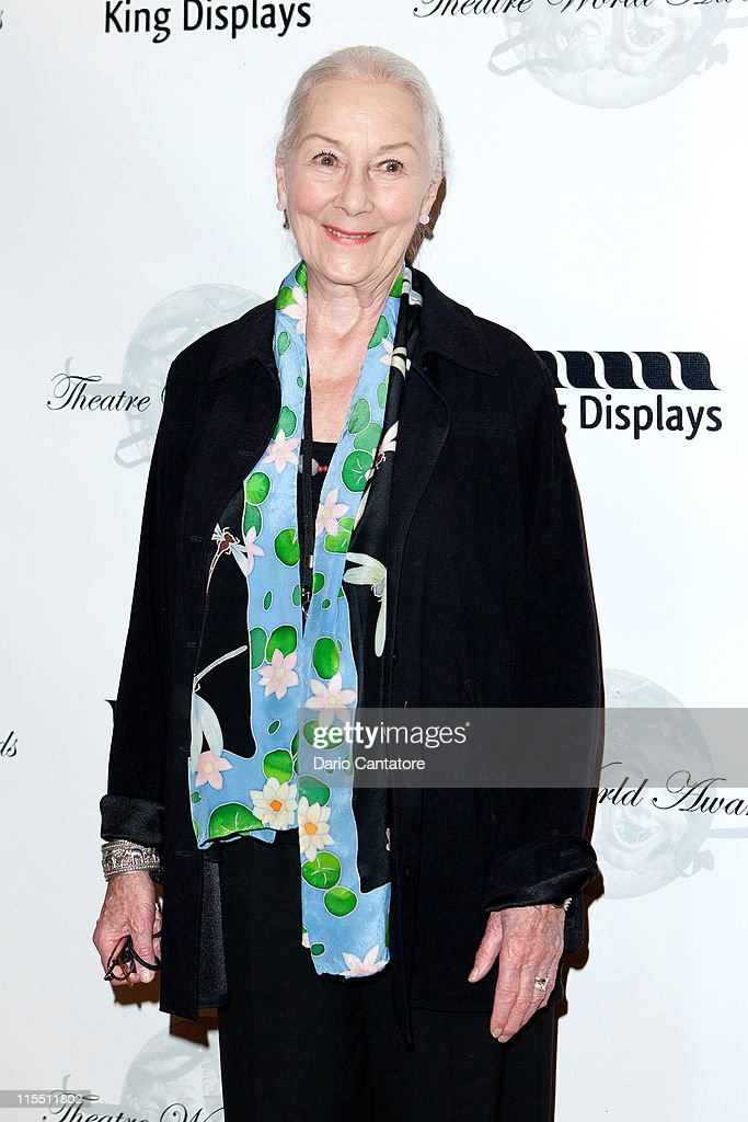 Rosemary Harris attends the 67th annual Theatre World Awards Ceremony at the August Wilson Theatre on June 7, 2011 in New York City.