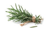 rosemary isolated on white background, Spices for cook food