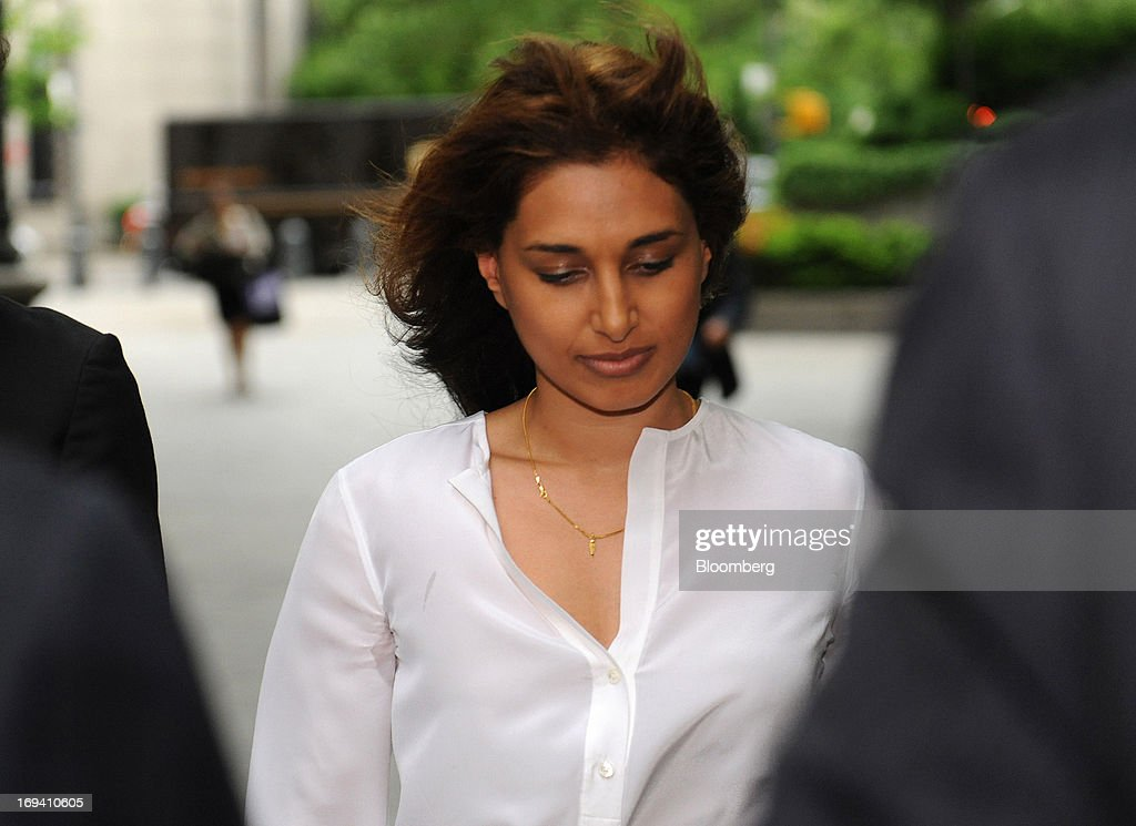 Rosemary Martoma, wife of Mathew Martoma, a former SAC Capital Advisors LP portfolio manager accused of insider trading, arrives at federal court in New York, U.S., on Friday, May 24, 2013. Mathew Martoma will be allowed to get documents from the U.S. Securities and Exchange Commission in its civil suit against him, a judge ruled. Photographer: Louis Lanzano/Bloomberg via Getty Images