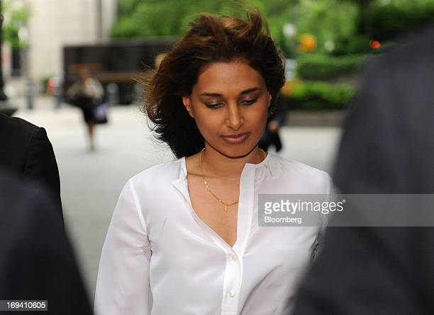 Rosemary Martoma wife of Mathew Martoma a former SAC Capital Advisors LP portfolio manager accused of insider trading arrives at federal court in New...