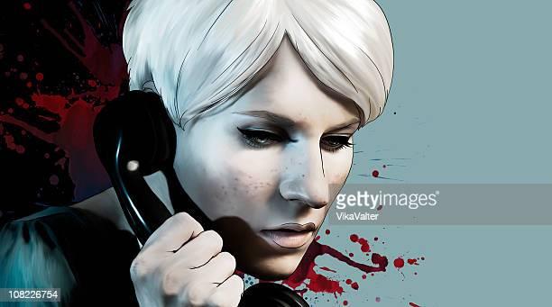 Rosemary sur le téléphone