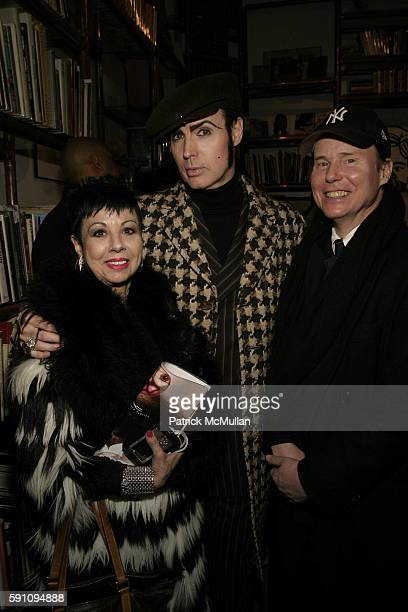 Rosemary Ponz Patrick McDonald and Baird Jones attend Edie Sedgwick Unseen Photographs of a Warhol Superstar Opening Reception Hosted by Misha...
