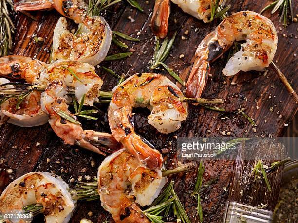 Rosemary Shrimp Skewers