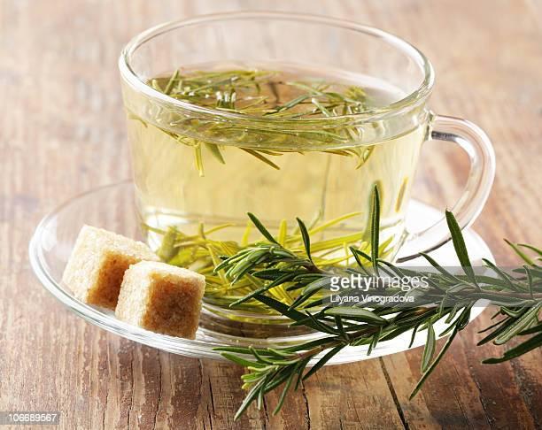 Rosemary tea and brown sugar