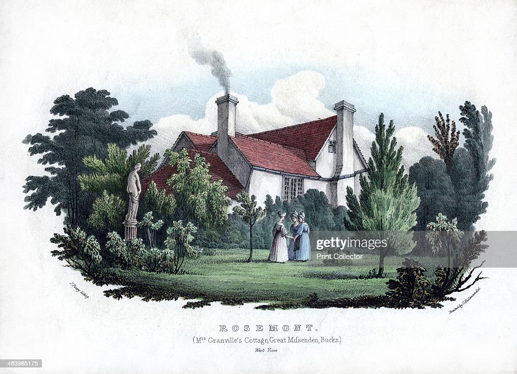 'Rosemont Mrs Granville's cottage Great Missenden Buckinghamshire' 19th century