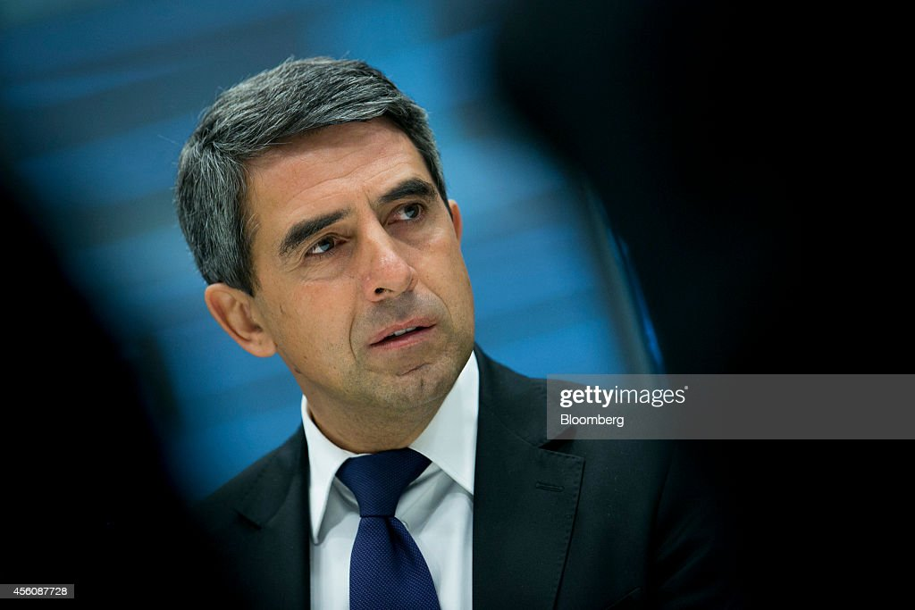 <a gi-track='captionPersonalityLinkClicked' href=/galleries/search?phrase=Rosen+Plevneliev&family=editorial&specificpeople=6873737 ng-click='$event.stopPropagation()'>Rosen Plevneliev</a>, Bulgaria's president, speaks during an interview in New York, U.S., on Thursday, Sept. 25, 2014. 'The crisis in Ukraine highlighted the issue of European energy security,' Plevneliev said last week in Baku. 'The South Gas Corridor will finally end our dependence on a single pipeline' Photographer: Scott Eells/Bloomberg via Getty Images